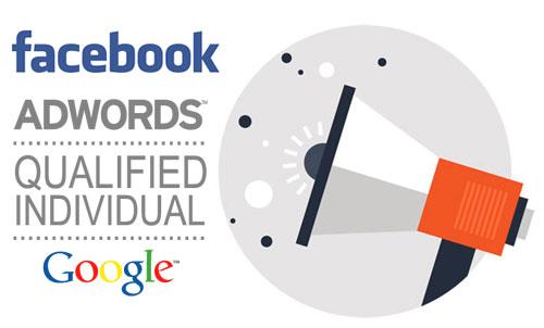 alta visibilità su Google e Facebook
