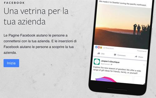 facebook per attività locali