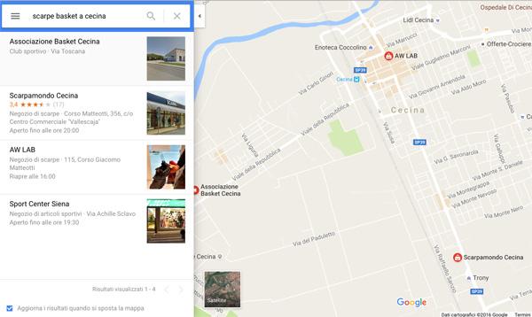 webmarketing per negozi ed attività locali